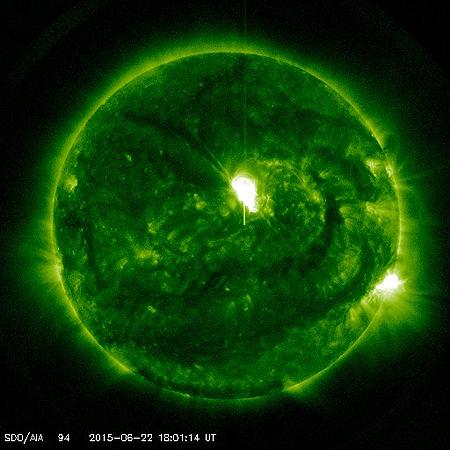 2015夏至 眠い・体調不良は、太陽フレアが原因の一つ