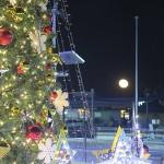 今年は19年ぶりのクリスマス満月(2015年12月25日)