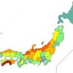 人口10万人あたりの神社が一番多い都道府県
