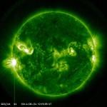 M5.9の中規模太陽フレア