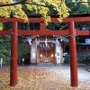 紅葉と神社のワークショップ