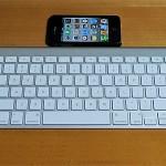 iPhone Bluetoothキーボード