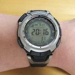 山用の腕時計 CASIOのProTrek 1300J
