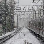都心で54年ぶりの初雪