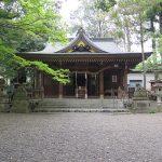 武蔵國全圖の阿蘇神社とチューリップ