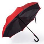室内を濡らさない、クルマ用の傘